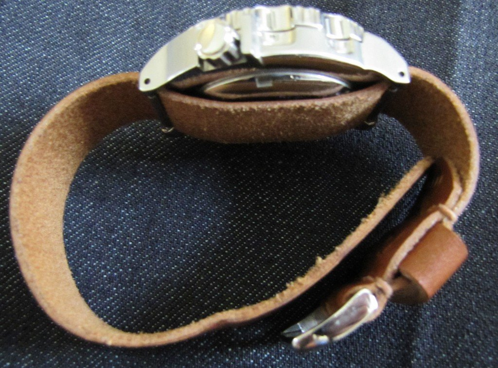 Cloudy Sky Leather Strap (11)