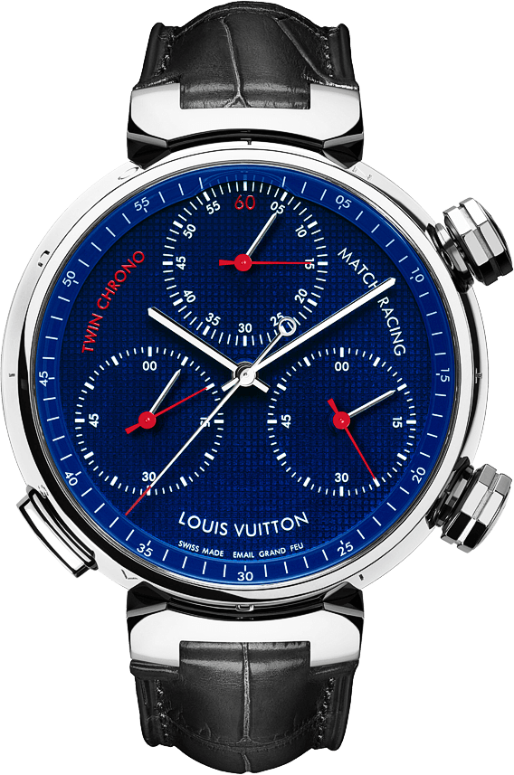 Louis-Vuitton-Tambour-Twin-Chrono-Watch
