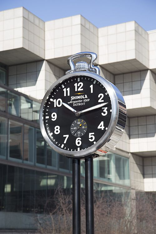 Shinola-Clock-Cobo-Hall