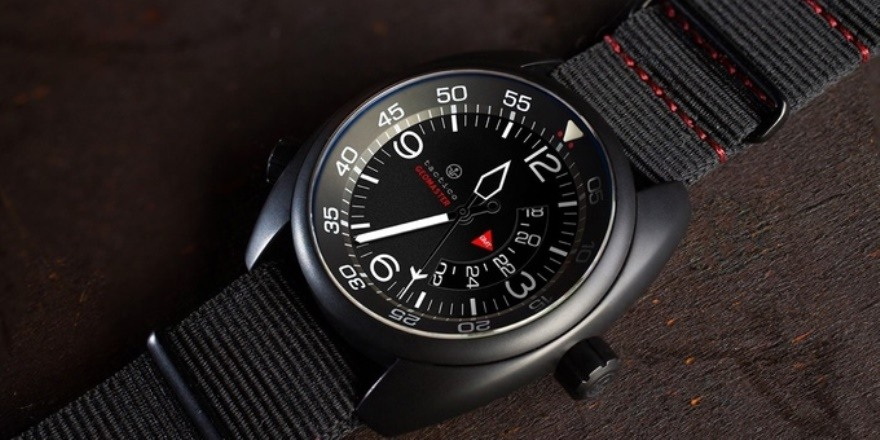 tactico geomaster gmt spanish infuences   wrist watch review