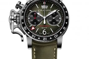 GRAHAM Chronofighter Vintage GMT 2CVBC.G01A.L141S_green on white_hr